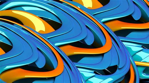 wallpaper blue orange abstract orange blue stereo backgrounds widescreen and hd