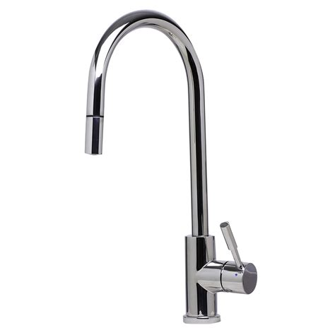 brands of kitchen faucets bath4all alfi brand ab2028 pss solid polished stainless steel single pull kitchen faucet