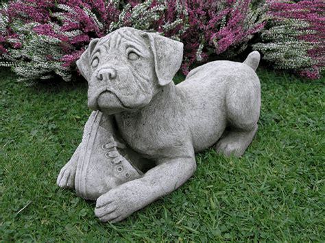 Garden Ornaments Boxer Garden Ornament Ds7 163 29 99 Garden4less Uk Shop