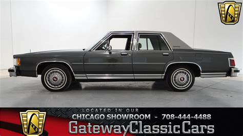 old car owners manuals 1987 mercury grand marquis user handbook 1987 mercury grand marquis gs gateway classic cars chicago 689 youtube