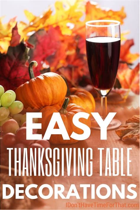simple thanksgiving table decorations easy thanksgiving table decorations ideas i don t