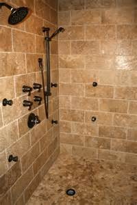 Bathroom Shower Tiles Ideas here s a tile shower design with a mosaic tile shower floor and oil
