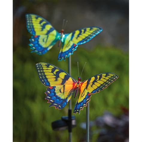 butterfly light l 2 westinghouse butterfly solar lights 227436 solar