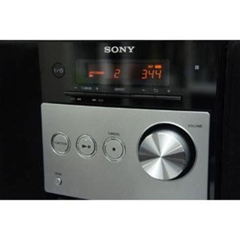 Sony Shelf by Sony Micro Stereo Shelf System W Cd Player Alarm Clock Fm