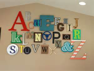 alphabet letters for wall decor thrive 360 living 10 ideas for playroom walls