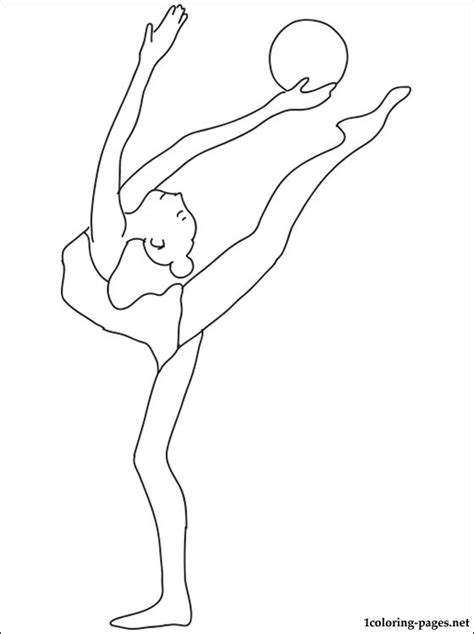 Gymnastics Colouring Pages Love Gymnastics Coloring Pages by Gymnastics Colouring Pages