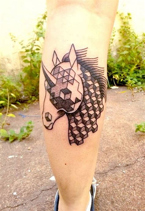 pinterest tattoo unicorn unicorn geometric dotwork tattoo tattoo pinterest