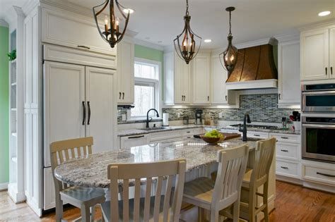 eat in kitchen island designs photos hgtv