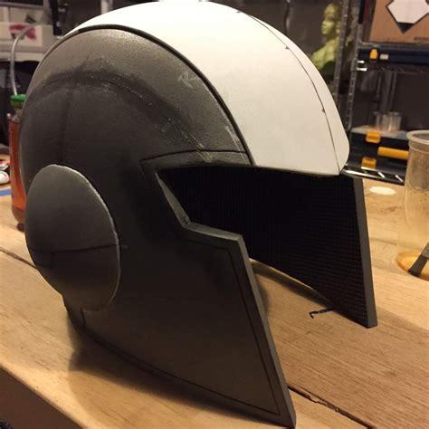 Foam Helmet Template How To Make A Cheap Foam Costume Helmet Template Jfcustoms Foam Files Foam Helmet Template