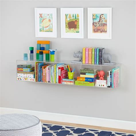 land of nod bookcase now you see it clear acrylic bookcase the land of nod