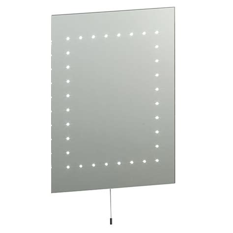 Endon 13758 Mareh Led Illuminated Mirror Bathroom Led Bathroom Lighting Centre