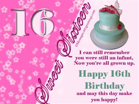 Happy Birthday Wishes Sweet 16 16th Birthday Wishes 365greetings Com