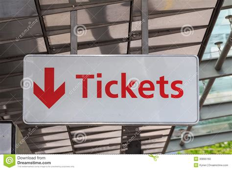 tickets sign stock photo image 30895160