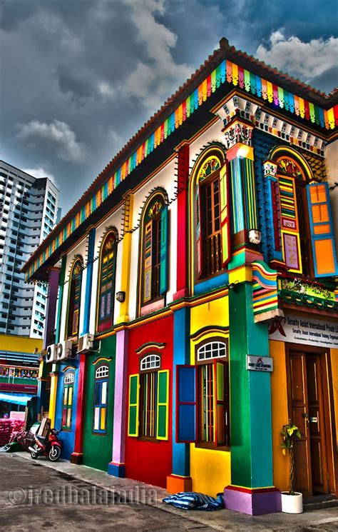 colorful houses painting panoramio photo of colorful buildings in little india