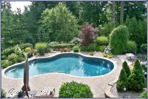 easy landscaping around pools re landscape around the