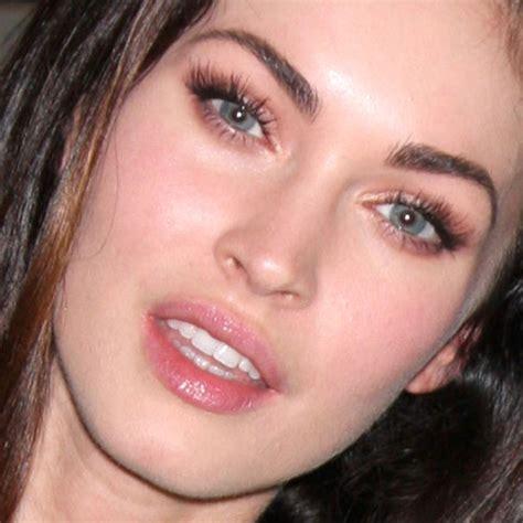 megan foxs makeup how to get her skin bold lip exact look megan fox s makeup photos products steal her style