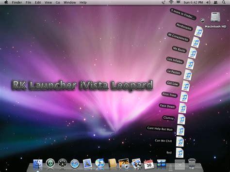 rk launcher themes leopard rk launcher windows vista