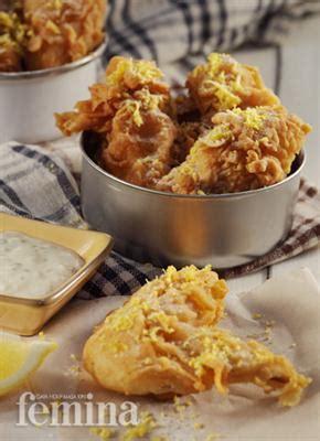 Sayap Ayam Segar sayap ayam lemon