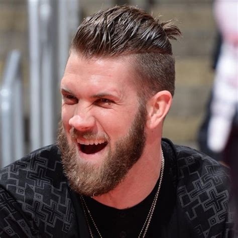 bryce harper ponytail 20 best bryce harper haircut how to get hair like bryce