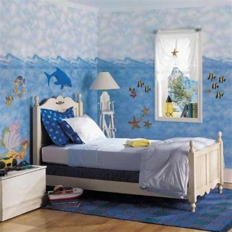 ocean bedroom decor sea theme kids bedroom design home interior design ideas