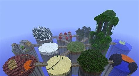 pvp island minecraft map biome islands survival pvp minecraft 1 4 7 minecraft project