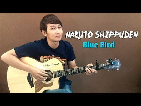 blue bird violin version shippuden border sadness and sorrow fingerstyle guitar doovi