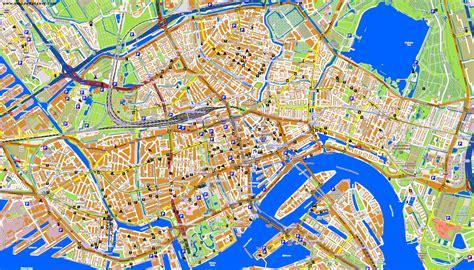 netherlands map rotterdam image gallery rotterdam map