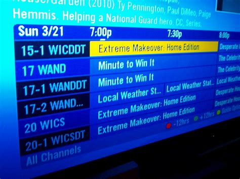tv on directv how to get hdtv local channels quot air quot with directv
