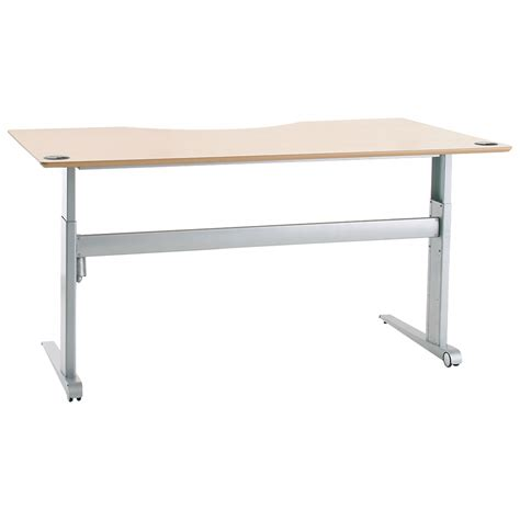 Sit Stand Electric Desk Shop Conset 501 17 Laminate Electric Sit Stand Desk