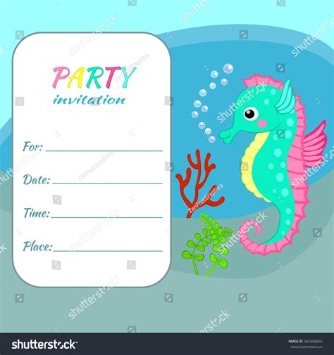 child birthday card template children birthday invitation card template colorful