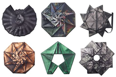 Origami Garments - issey miyake innovator as inspiration for innovation