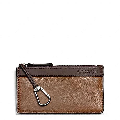 Key Pocket Envelope Color Carfu R camden leather envelope key f65178 saddle mahogany coach www handbagdb