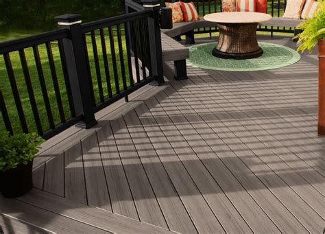 evergrain decking  timbertech composite