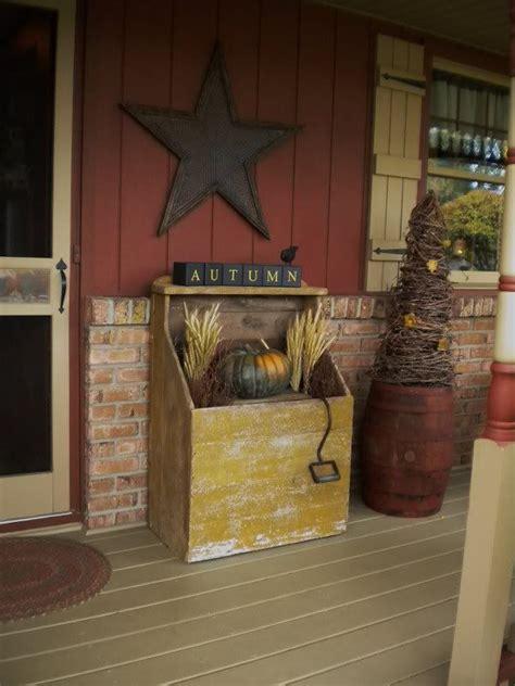 primitive porch decor porch ideas pinterest primitive porch primitive porches pinterest