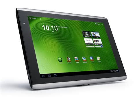 Tablet Android Acer acer iconia tab a500 android tablet up for grabs