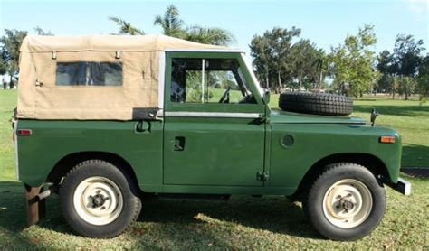 1970 land rover for sale for sale 1970 land rover series ii convertible