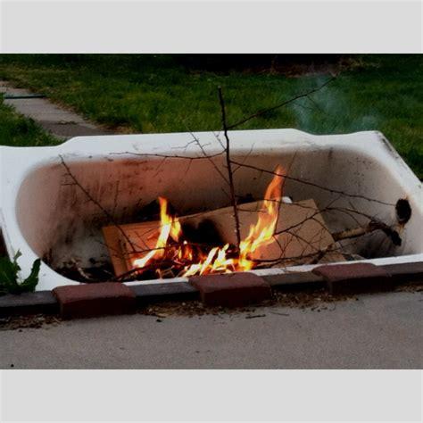 tub pit cast iron bath tub pit gardening