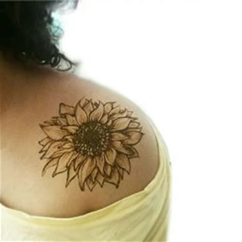 sunflower tattoo on shoulder tumblr 25 best ideas about sunflower tattoo shoulder on