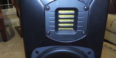 goldenear triton  tower speakers review audioholics