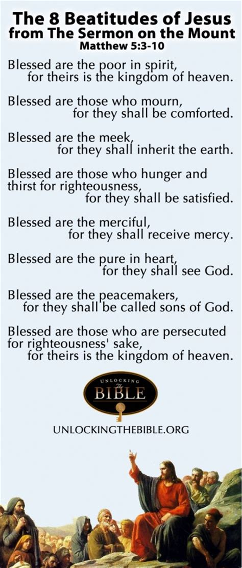 the living matthew 5 3 what are the beatitudes of the sermon on the mount