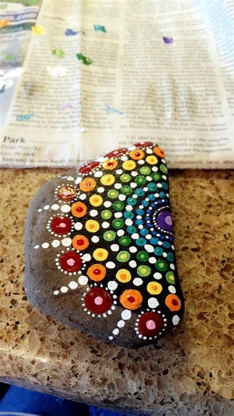 diy mandala stone patterns  copy