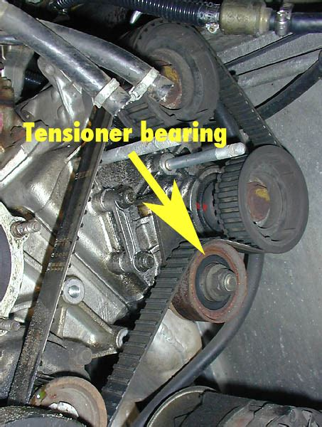 service manual remove tensioner on a timing cover 2005 aston martin vanquish s timing chain