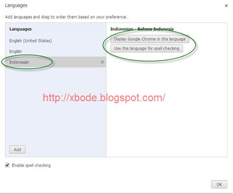 chrome indonesia cara setting google chrome ke bahasa indonesia sharing