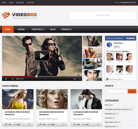 youtube themes gallery 13 youtube wordpress themes templates free premium