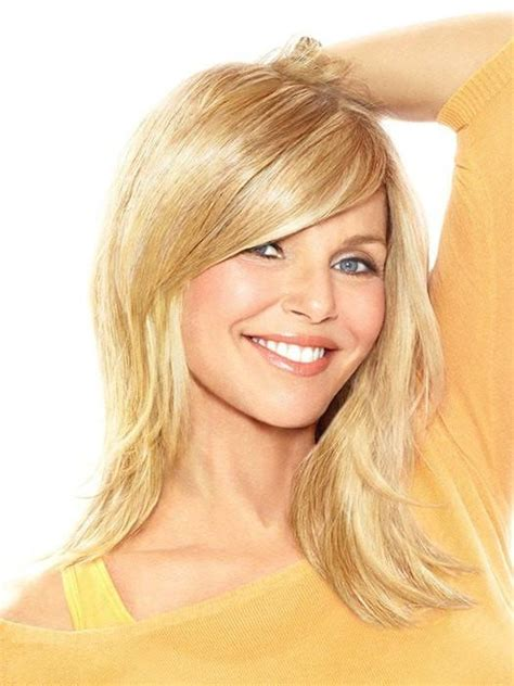 sweeping fringe hairstyles full sweeping side fringe clip in bang by christie