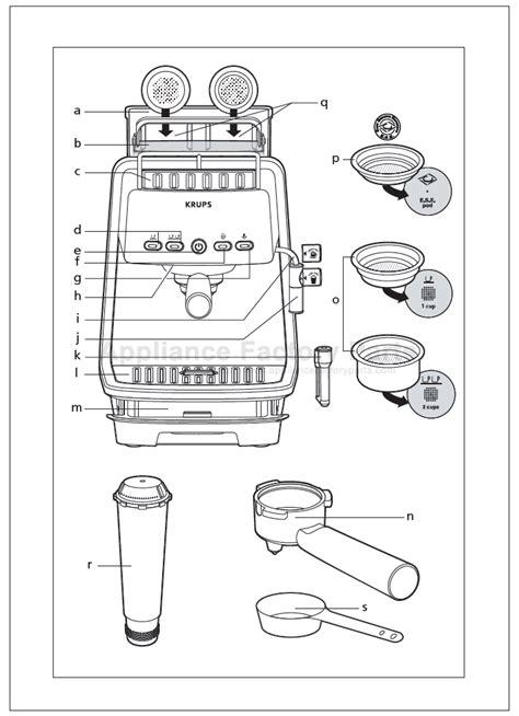 Krups Xp4050 Parts Small Appliances