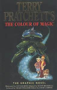 the color of magic book the colour of magic book covers