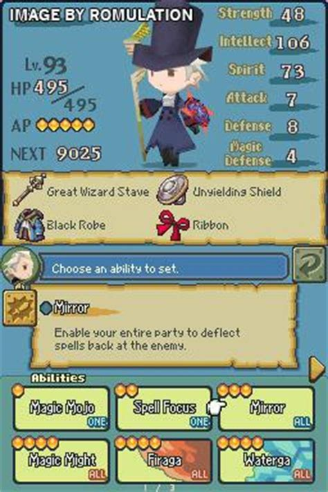 the 4 heroes of light the 4 heroes of light usa nds nintendo