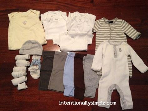 after baby clothes for gender neutral newborn wardrobe intentionally simple