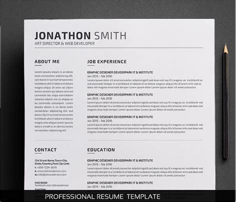 creative cv template pdf 14 creative resume templates free word pdf design formats